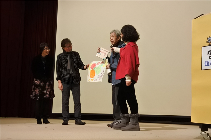 繪本阿公鄭明進老師表示孫子也很喜歡宮西達也老師的繪本