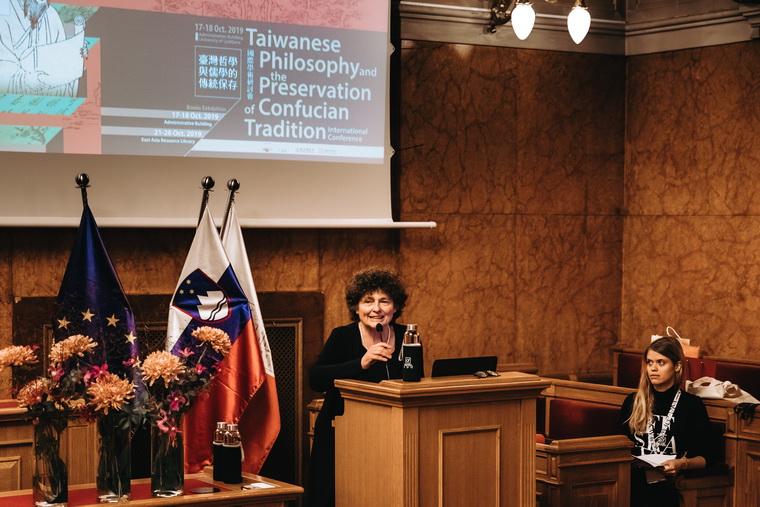 Professor Jana Rošker's Remarks