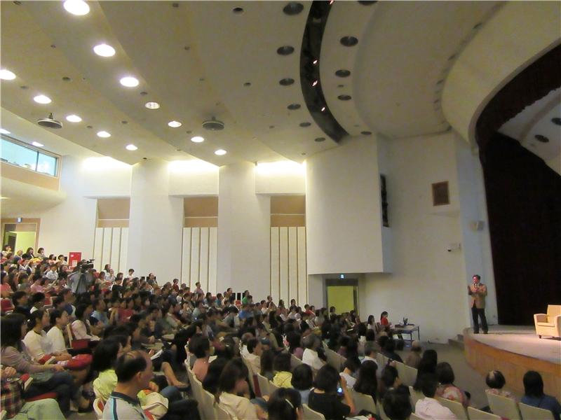 圖2:座無虛席的會場