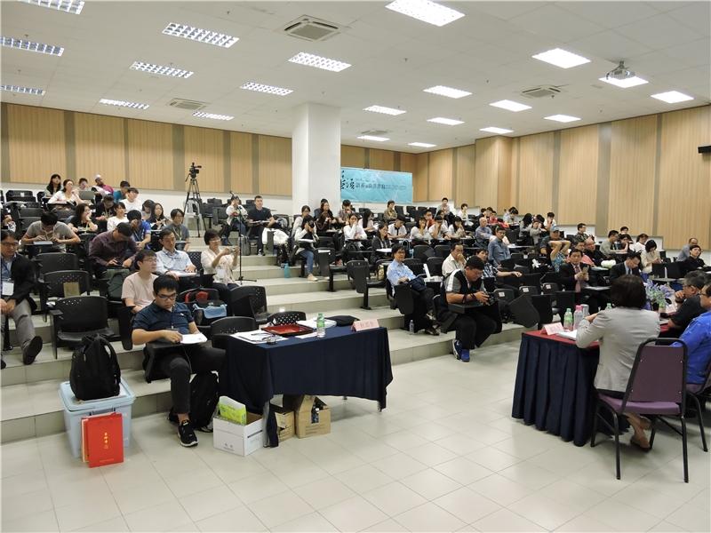 會議結束前仍有眾多與會者參與