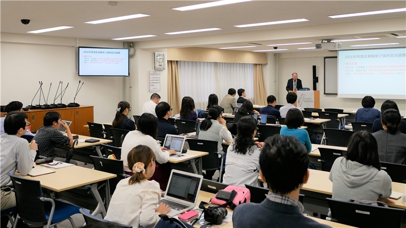 The lecture was warmly received by staff and students of the University of Tokyo