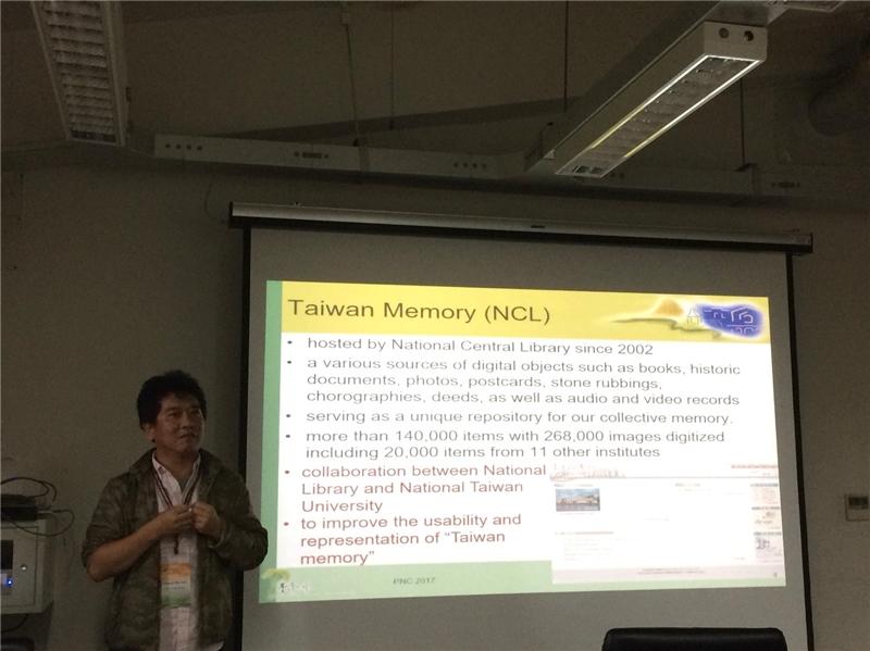 蔡炯民博士發表演講