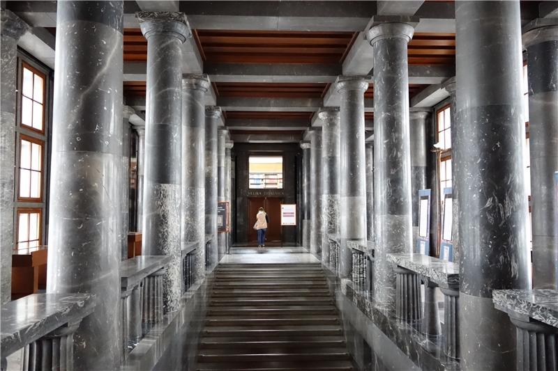 斯洛維尼亞國家圖書館的建築設計饒富特色