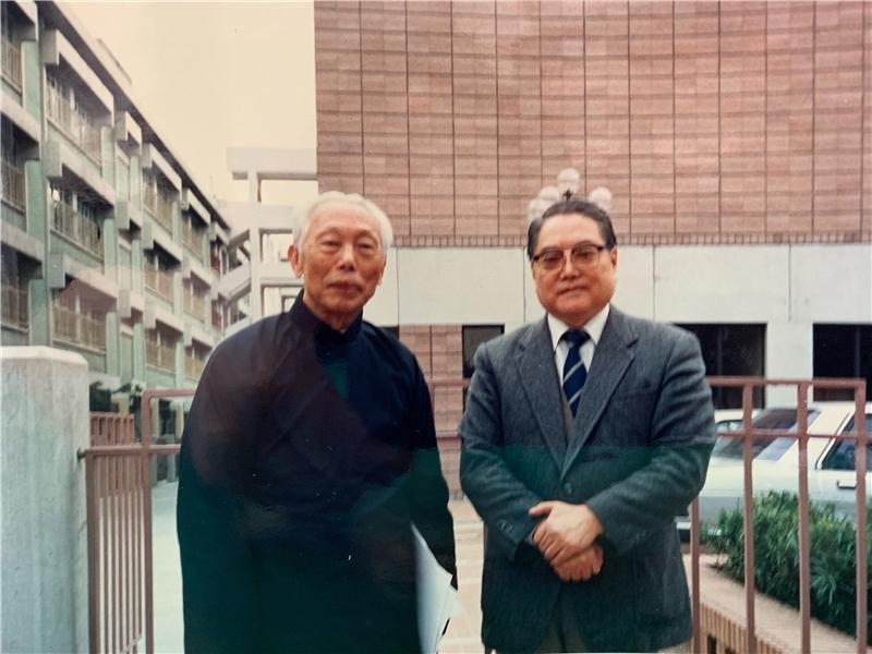 王振鵠教授與羅光總主教