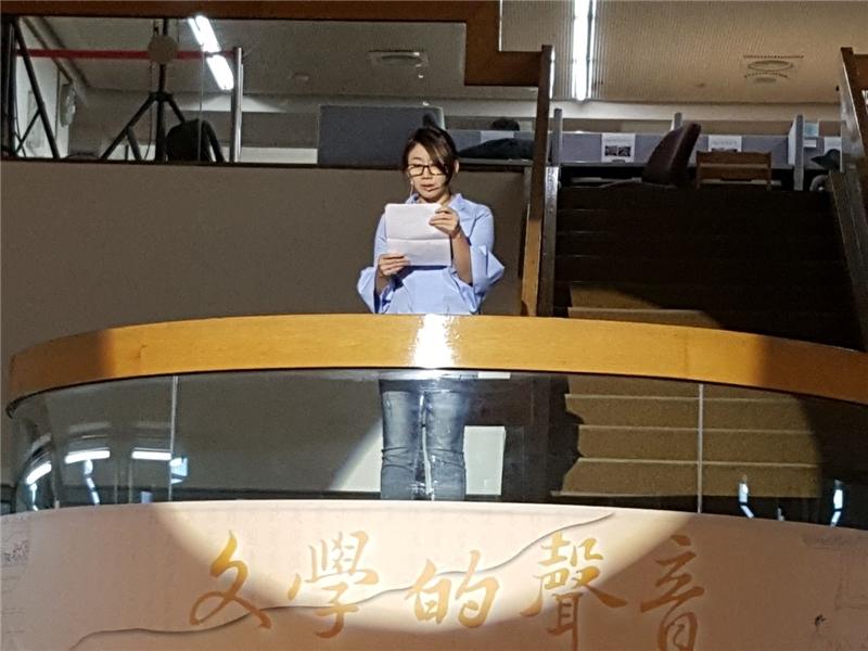 臺北教育大學語文創作系郝譽翔教授朗讀〈消失的屋頂〉1