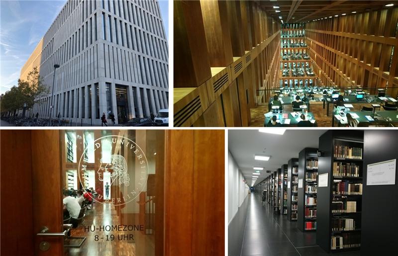 德國柏林洪堡大學圖書館