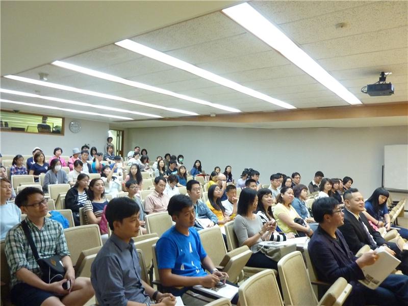 講座吸引一百多名來賓參加