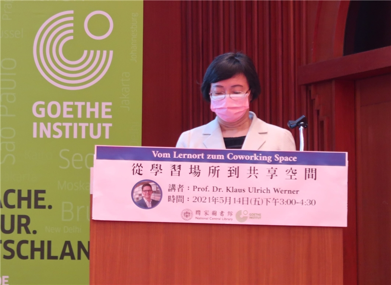 National_Central_Library_Director-General_Shu-hsien_Tseng's_opening_remarks