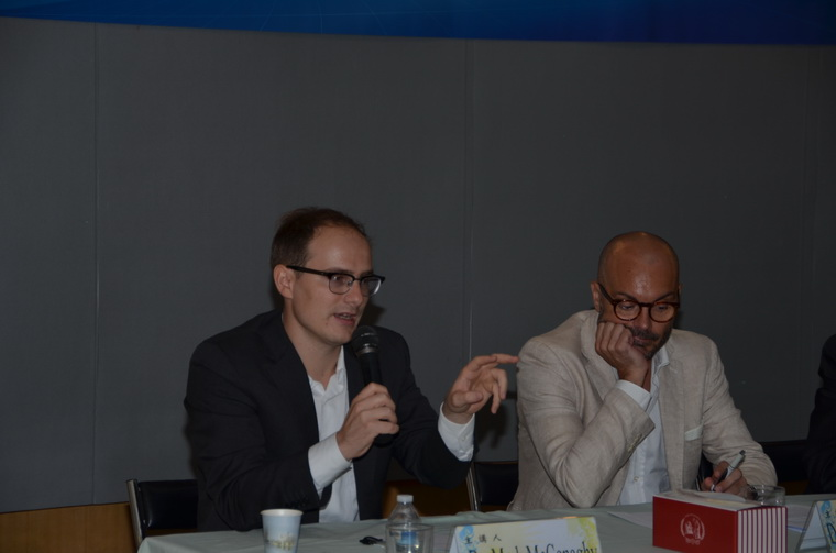 左起:Dr. Mark McConaghy、Dr. Stefano Pelagg