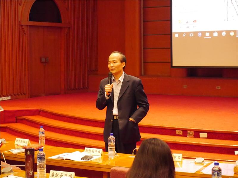 國立公共資訊圖書館劉仲成館長引言