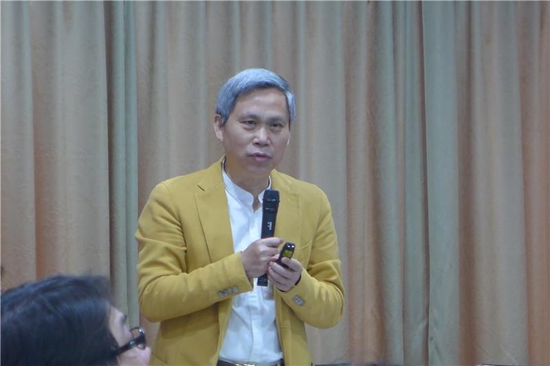 圖 5 - 沈臨龍副董事長(新世代金融基金會)