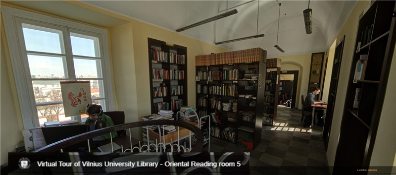 The TRCCS will be located at the Oriental Studies Reading Room at the 4th and 5th Floor of the Central Library of Vilnius University