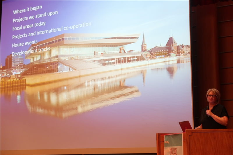 Aarhus Public Libraries Director Marie Oestergaard Visits the NCL to Give a Lecture