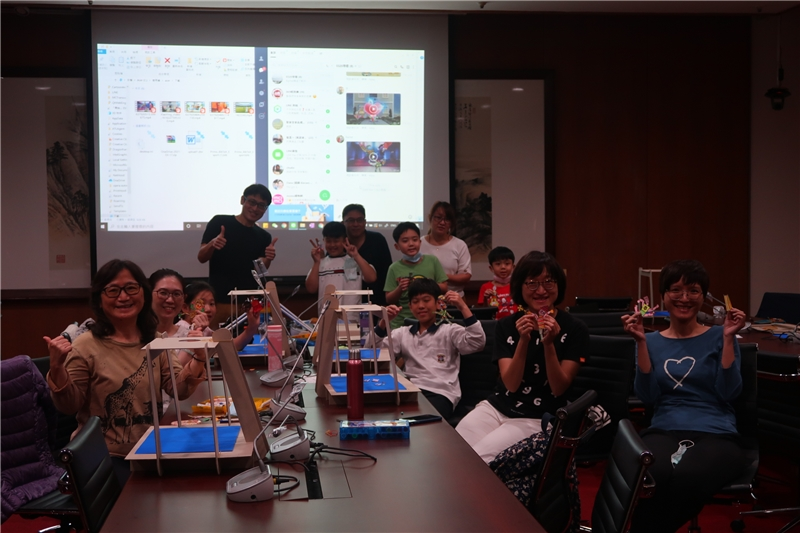 "A group photo of attendees at the ""Us under the Threat of the Pandemic"" Stop Motion Workshop."