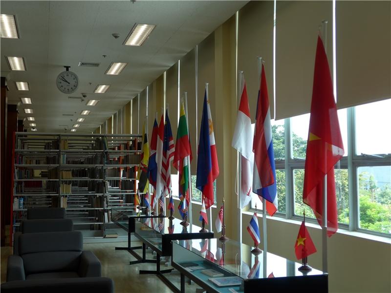 泰國國圖之國際圖書館藏