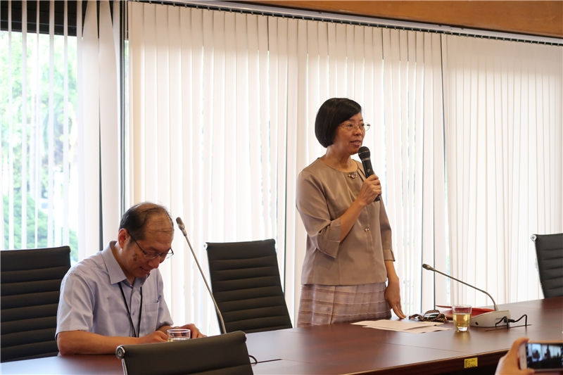 Director-General Tseng attends the symposium and expresses her welcome