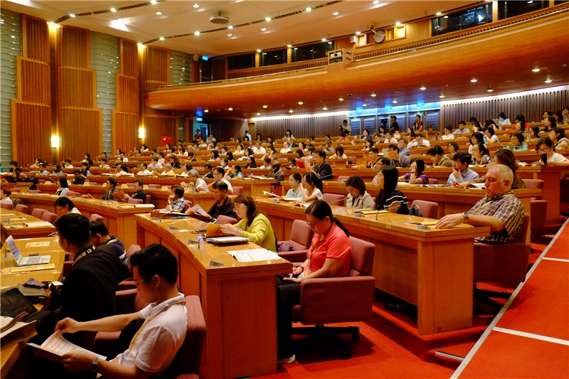圖5、參加第21屆國際電子學位論文學術研討會(ETD 2018 Taiwan)之現場嘉賓