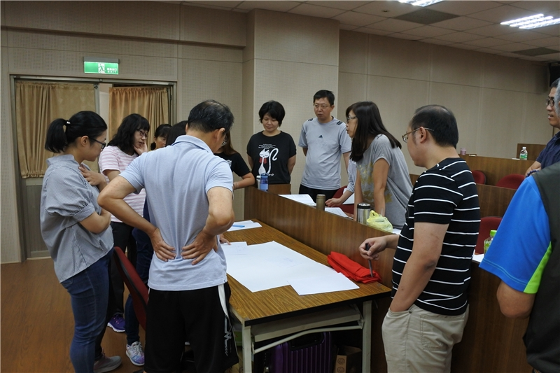 圖10:學員小組熱烈討論