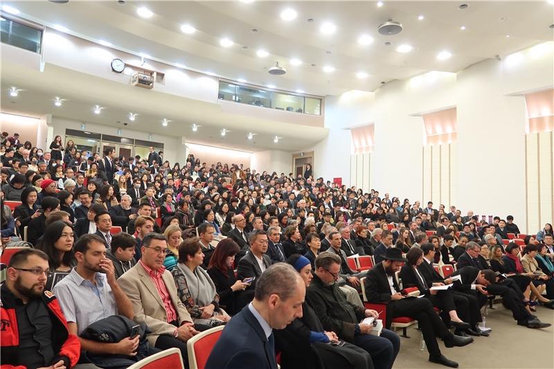 「國際大屠殺紀念日」紀念會活動會場座無虛席