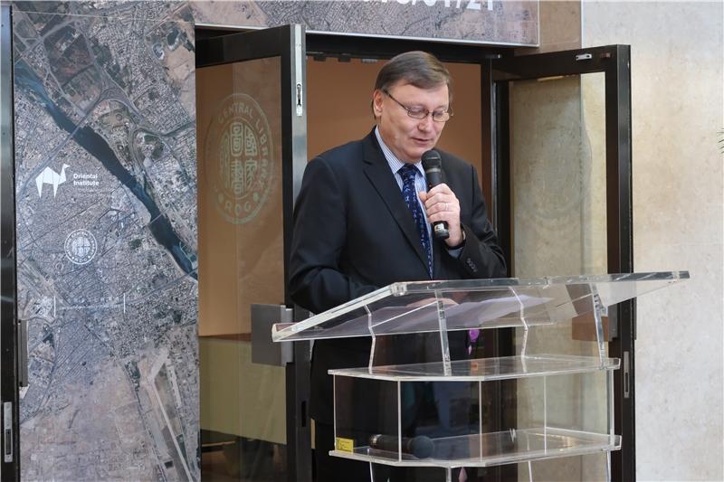 捷克經濟文化辦事處易禮哲代表致詞