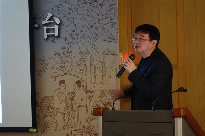 陳志銘教授介紹平台系統各項功能