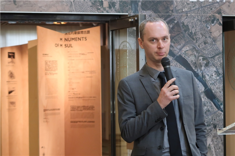 捷克科學學院亞非研究所Ondřej Beránek所長致詞