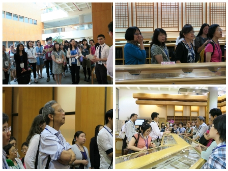 Participants visited the NCL's rare books room as well as other service facilities.