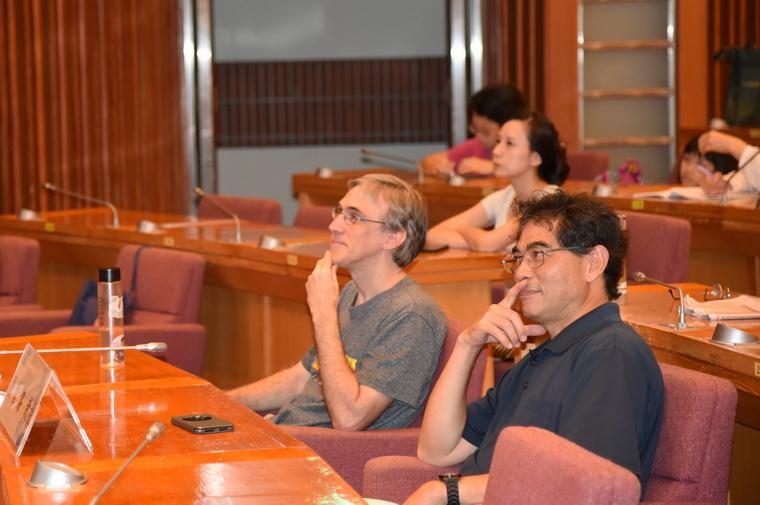 左起:徐睿楷先生、劉智濬教授
