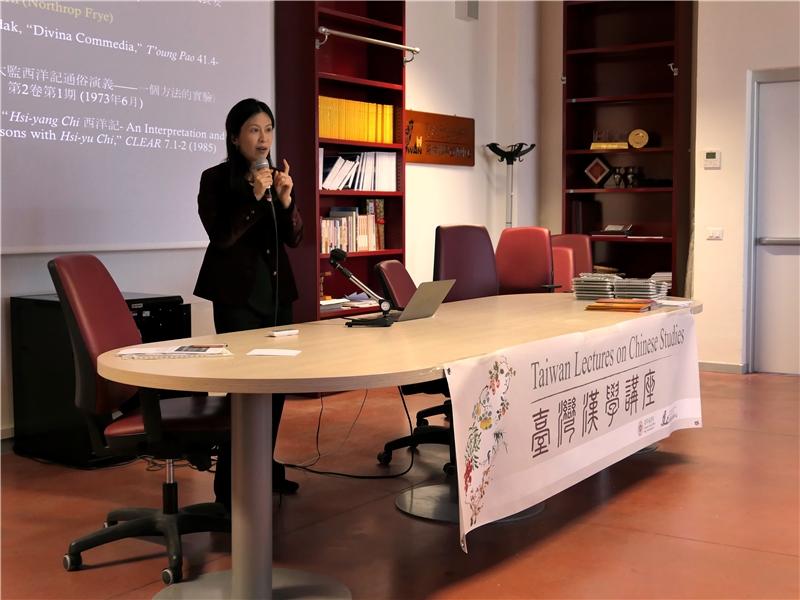 劉瓊云教授發表精彩演說
