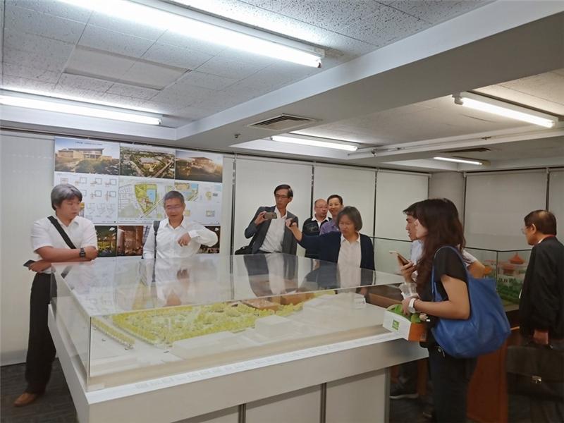 臺北場(第2場)說明會,由張清華建築師為參與廠商簡報本案建築設計。(108.8.12)