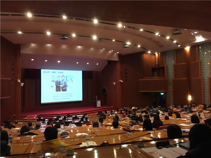 徐健麟科長以孫子兵法的概念向聽眾說明行銷戰略