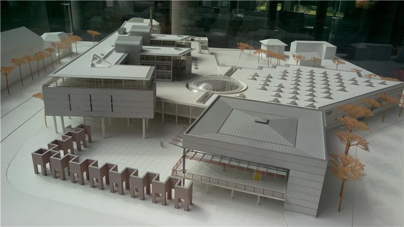 法蘭克福國家圖書館模型