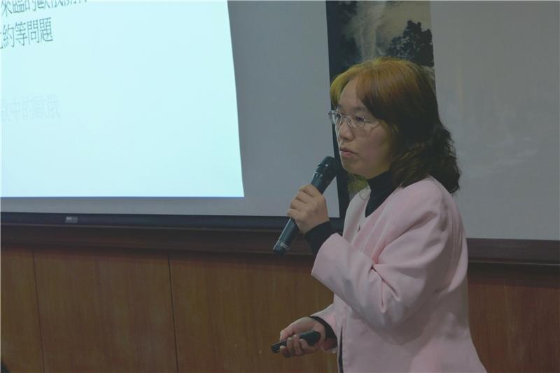 圖 5 - 洪美蘭 (國立政治大學俄羅斯研究所教授)