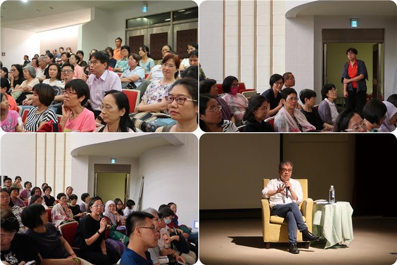 圖5:民眾提問與楊照先生回覆問題