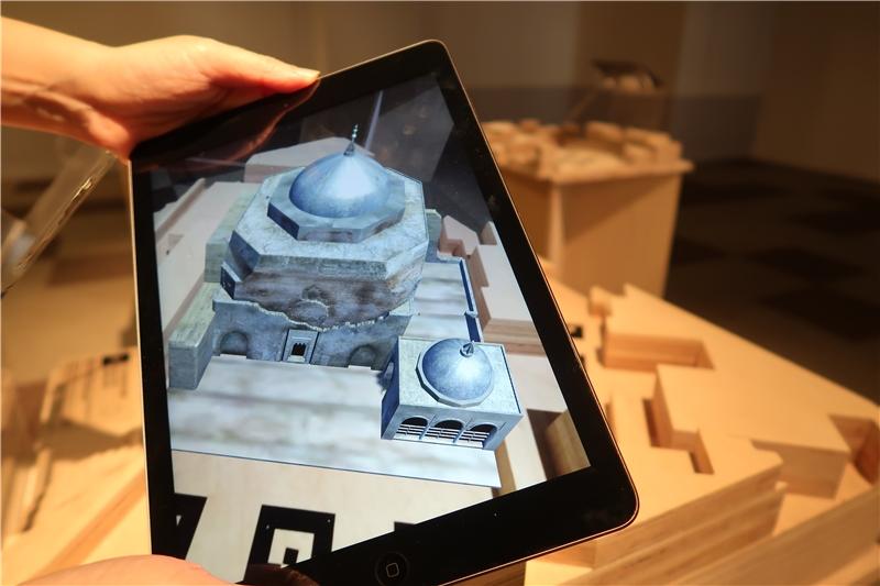 透過AR擴增實境,重現「夏卡‧沙特的清真寺及陵墓」
