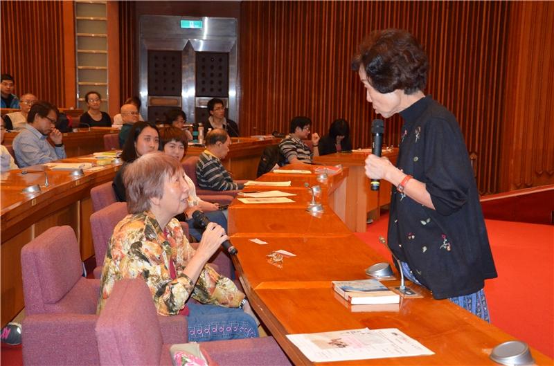 歐茵西教授與聽眾精彩互動__提問與回覆