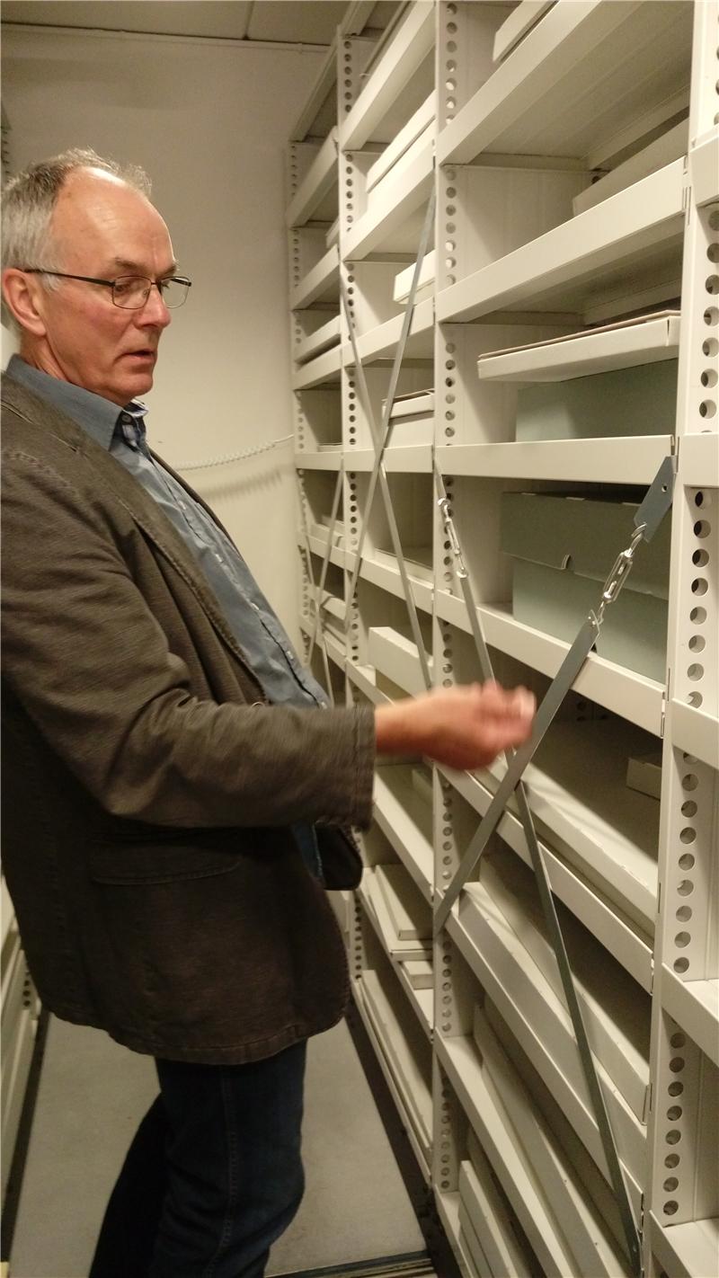 哥本哈根大學人文學院圖書館密集書庫