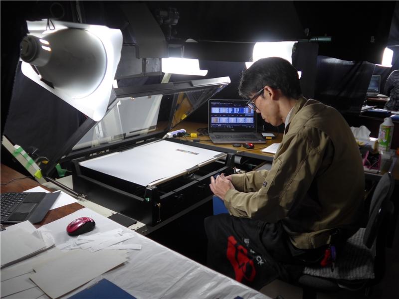 人文科學研究所古籍掃描空間
