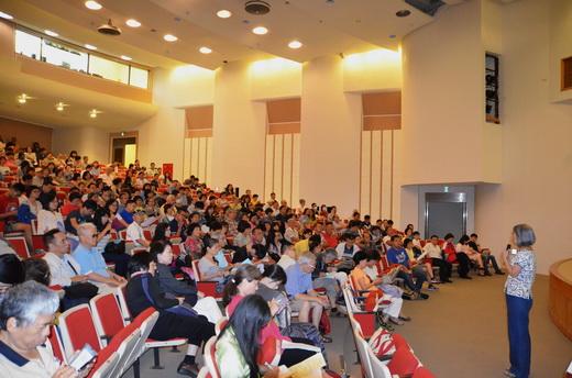 劉靜貞教授回答現場讀者提問