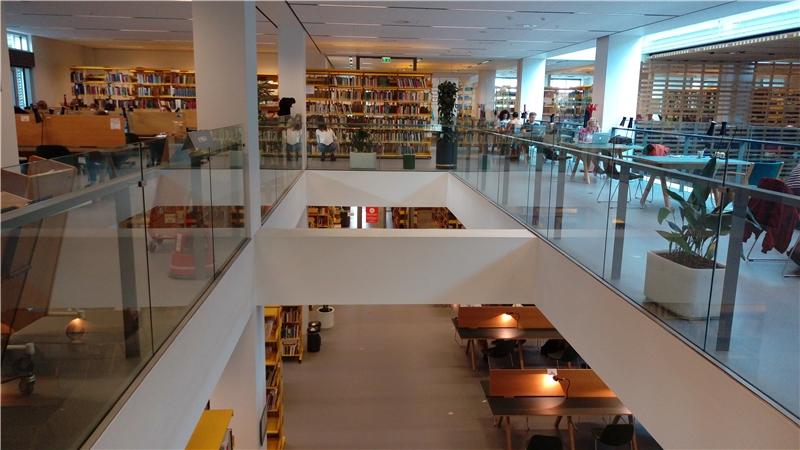 哥本哈根大學跨文化區域研究學院圖書館