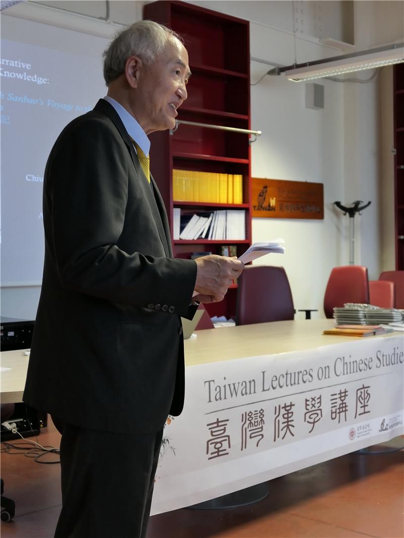 我駐義副代表黃榮國公使致詞
