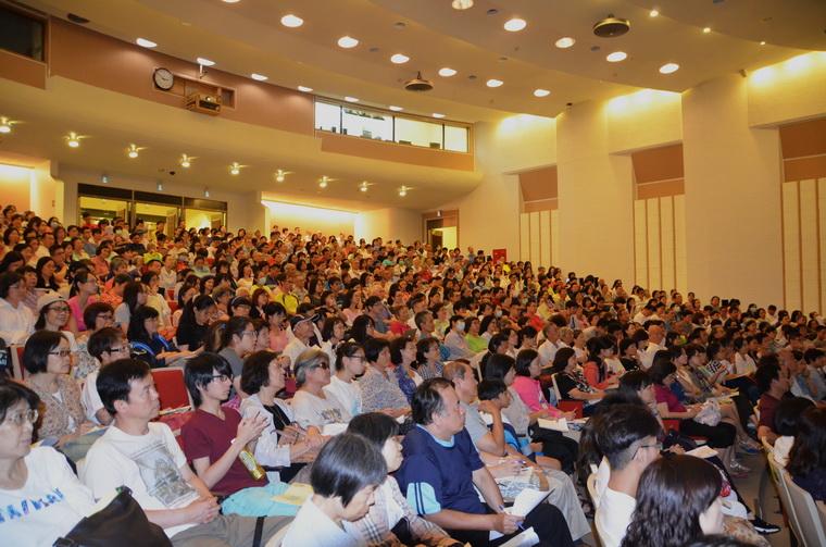演講第一現場讀者出席踴躍