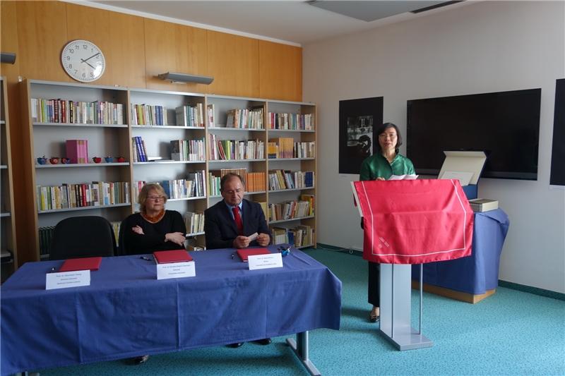 曾淑賢館長於「臺灣漢學資源中心」啟用典禮上致詞