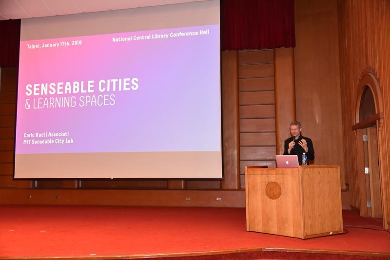 義大利知名建築師  Carlo Ratti主講「感應城市」