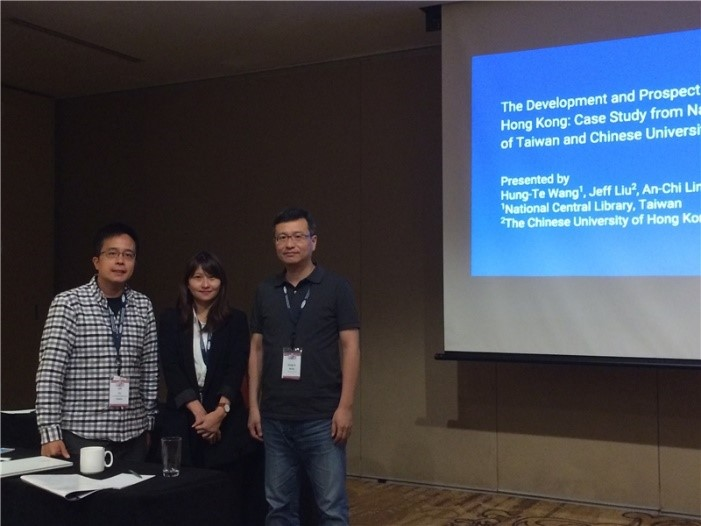 Colleagues from the NCL and CUHK present their joint research at the symposium