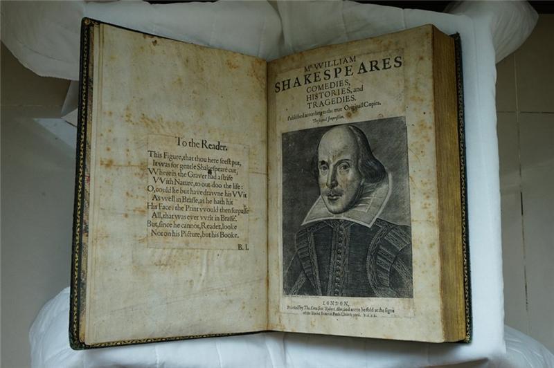 Copy of Shakespeare's Second Folio of 1632