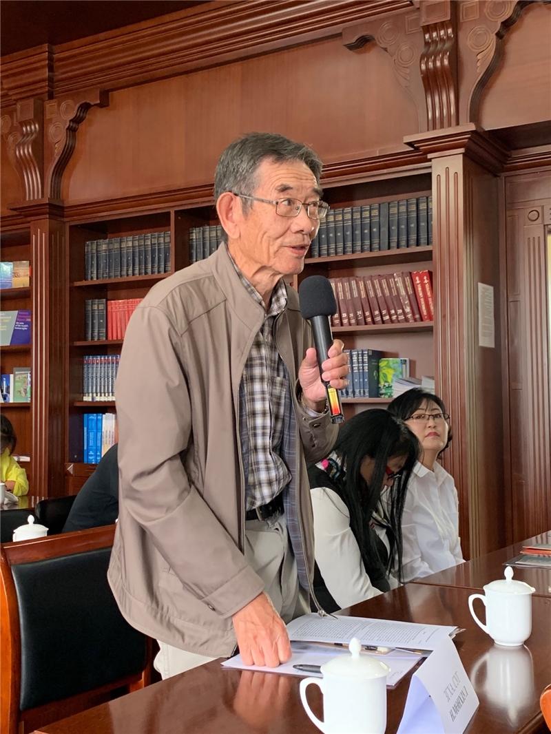 臺灣漢學講座參與學者踴躍發言