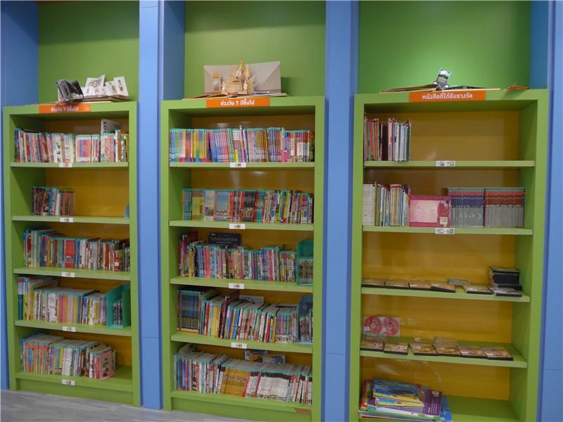 泰國國圖兒童圖書室