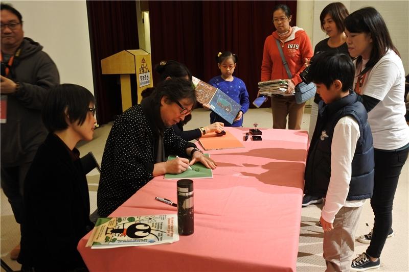 宮西達也老師簽書