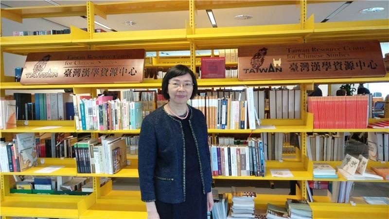 哥本哈根大學跨文化區域研究學院圖書館設置的「臺灣漢學資源中心」